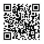 The QR code for the GeoSciTeach website