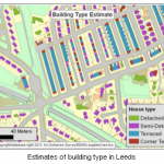 An Image of building types in Leeds in data from the GeoCrimeData Project